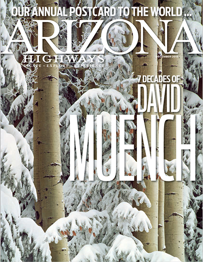 David Muench in Arizona Highways